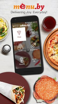 Menu.by — restaurant food delivery pc screenshot 1