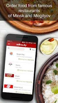 Menu.by — restaurant food delivery pc screenshot 2