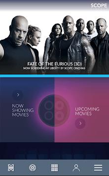 Scope Cinemas - Movie Tickets pc screenshot 1