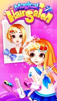 Magical Hair Salon: Girl Makeover pc screenshot 2