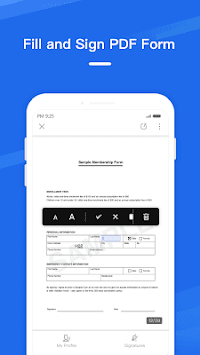 WPS Fill & Sign pc screenshot 2