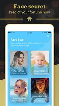 Face Scan - Face Analysis, Predict Baby & Fortune pc screenshot 1
