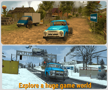 Russian Car Driver  ZIL 130 pc screenshot 1