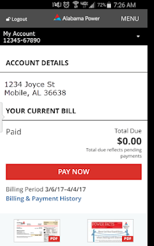 Alabama Power pc screenshot 1