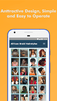 500+ Top African Braids Hairstyles Fashion Offline pc screenshot 2