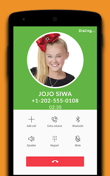 Fake Call From Јoјo Siwа - Prank pc screenshot 1