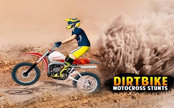 Dirt Bike Race Free - Flip Motorcycle Racing Games pc screenshot 1