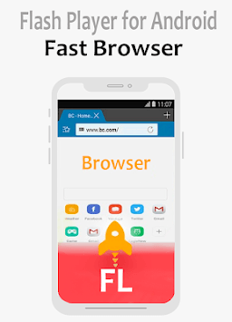 Flash Player Android - SWF and FLV Flash plugin pc screenshot 2
