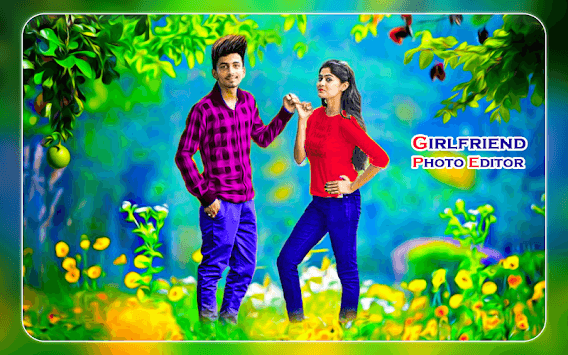 Girlfriend Photo Editor - Girlfriend Photo Frames pc screenshot 1