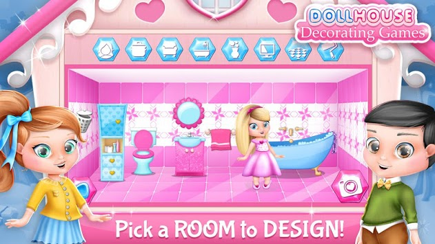 Dollhouse Decorating Games pc screenshot 2