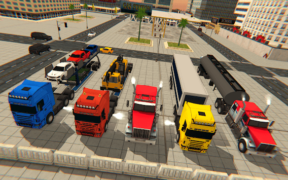 Cargo Delivery Truck Parking Simulator Games 2018 pc screenshot 1