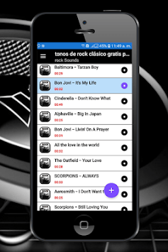 classic rock music ringtones free for cell phone pc screenshot 1