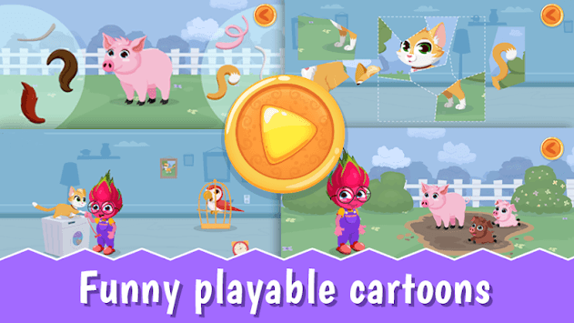 YourSmartKid - Educational cartoons & kids games pc screenshot 2