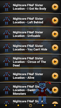 Nightcore FNaF Sister Location Song Ringtones pc screenshot 1