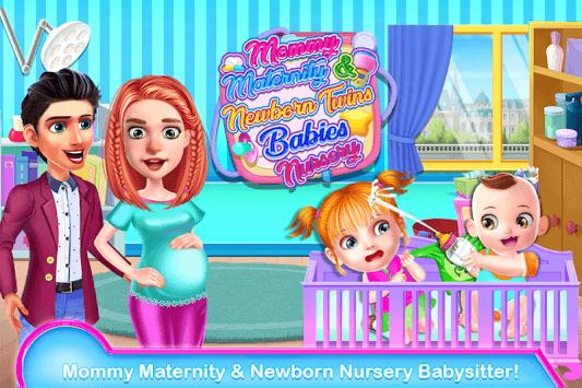 Mommy Maternity & Newborn Twins Babies Nursery pc screenshot 2