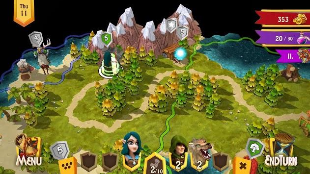 Heroes of Flatlandia - Demo pc screenshot 1