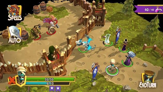 Heroes of Flatlandia - Demo pc screenshot 2