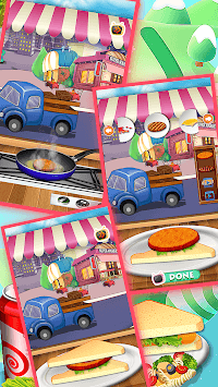 sandwich maker baking fun games pc screenshot 1