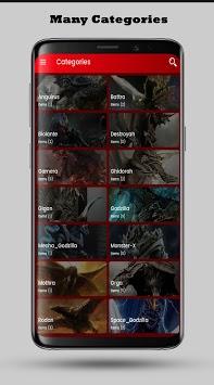 Kaiju Wallpaper HD pc screenshot 2