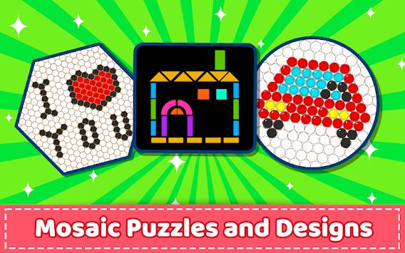 Mosaic Puzzles Art Game - Block Beads & Hex Puzzle pc screenshot 1