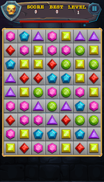 Temple Jewels : Gems Quest - Puzzle Games Free pc screenshot 2
