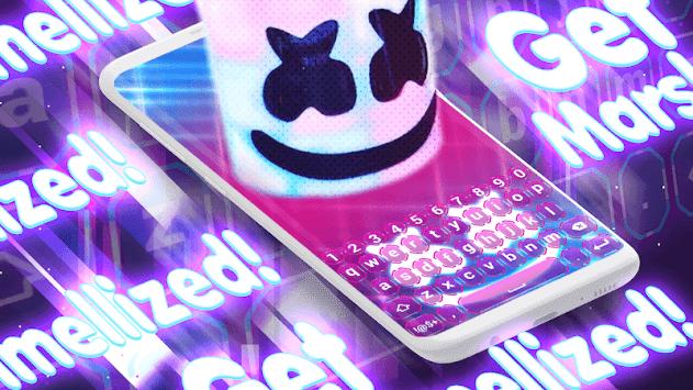 Marshmello Keyboard Backgrounds pc screenshot 1