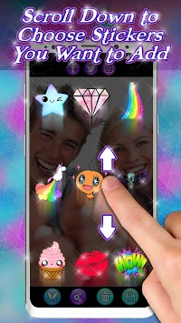 Snappy Photo Editor Stickers - Filters for Selfies pc screenshot 1