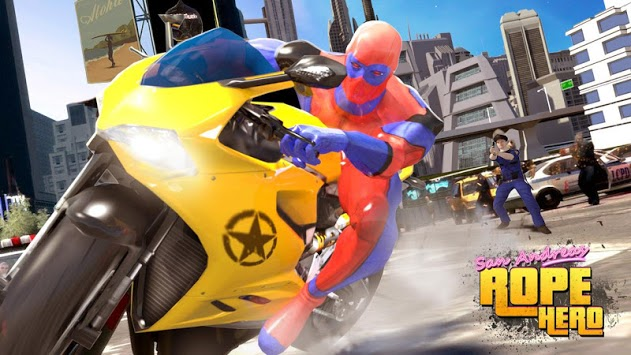 Sin City Rope Hero : Superhero Games pc screenshot 1