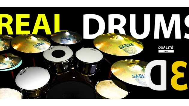 Real Drums QS 3D-Drum Simulator pc screenshot 1