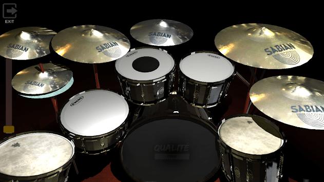 Real Drums QS 3D-Drum Simulator pc screenshot 2