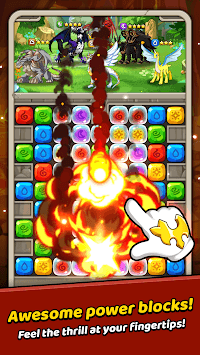 Dragon Village B - Dragon Breeding Puzzle Blast pc screenshot 1