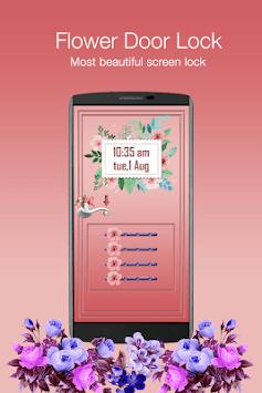 Flower Door Lock - Screen Lock pc screenshot 1