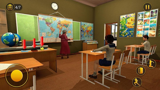 Scary Granny Teacher HighSchool pc screenshot 1
