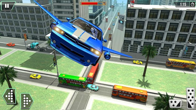 Real Flying Car Taxi Simulator pc screenshot 2