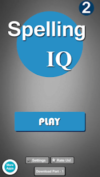 Kids Spelling IQ 2 pc screenshot 1