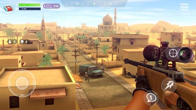FightNight Battle Royale: FPS Shooter pc screenshot 1