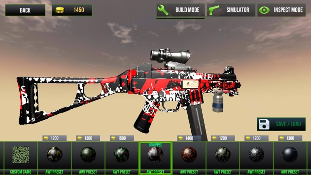 Custom Gun Simulator 3D pc screenshot 1