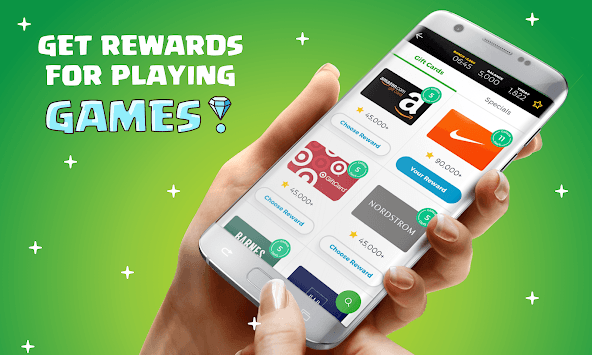 Rewarded Play: Earn FREE Gift Cards Playing Games pc screenshot 1