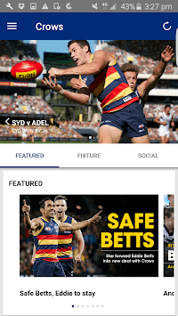 Adelaide Crows Official App pc screenshot 1