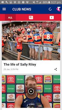 Adelaide Crows Official App pc screenshot 2