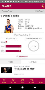 Brisbane Lions Official App pc screenshot 2