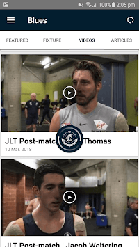 Carlton Official App pc screenshot 2