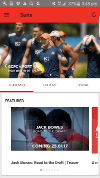 Gold Coast SUNS Official App pc screenshot 1