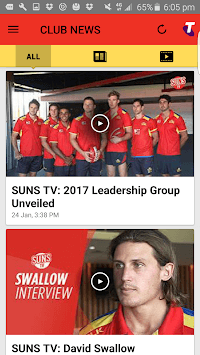 Gold Coast SUNS Official App pc screenshot 2