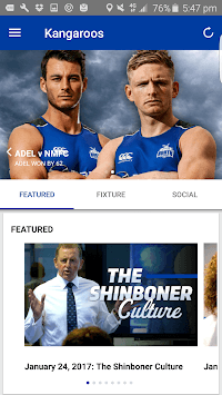 North Melbourne Official App pc screenshot 1
