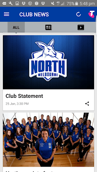 North Melbourne Official App pc screenshot 2