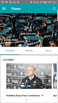 Port Adelaide Official App pc screenshot 1
