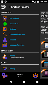 Shortcut Creator pc screenshot 1