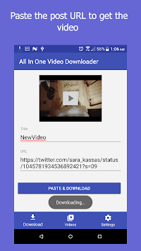 All In One Video Downloader for PC Windows or MAC for Free