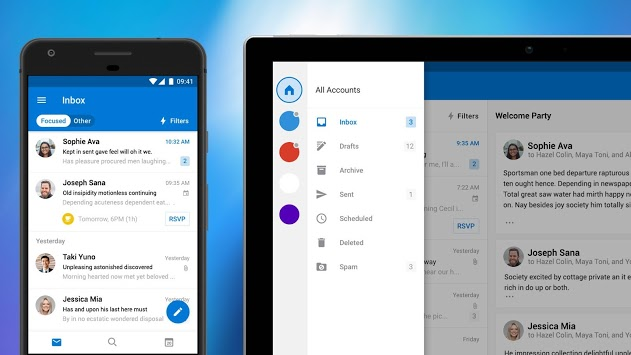 Email App All-in-one - Free, Secure, Online E-mail pc screenshot 1